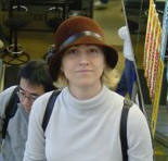Tonya Lyle in Japan, 2001